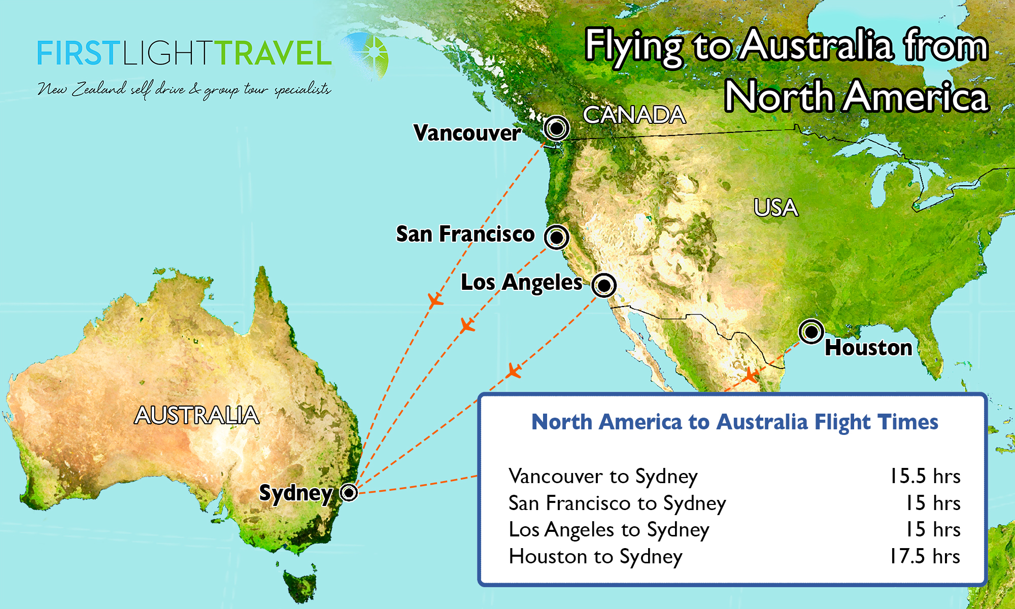 Australia And America Map.Flying To Australia Travel Tips For Your Dream Vacation