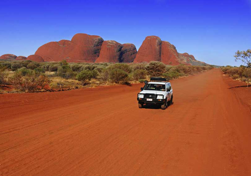 Outback Australia Driving