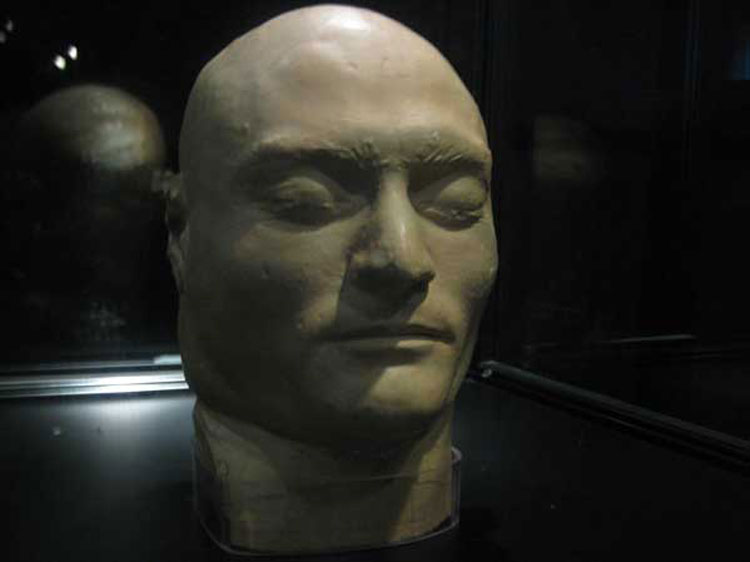 Ned Kellies Death Mask
