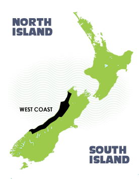 South Islands West Coast