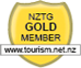 NZTG Gold Member Badge