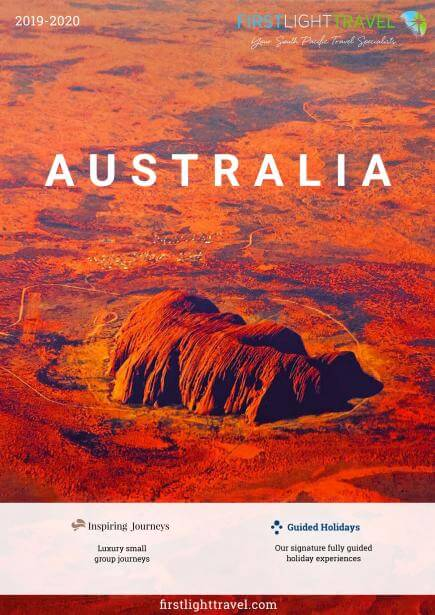 Outback Adventure & Ghan Rail Journey Cover Brochure