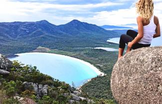 Freycinet  Wineglass Bay Tasmania